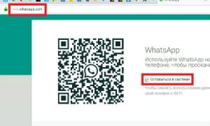 WhatsApp Web Site